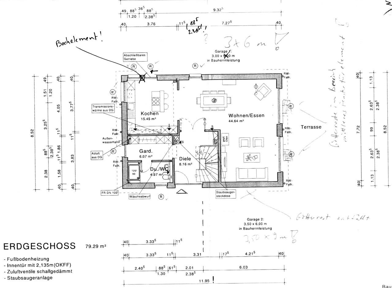 grundriss wir bauen 39 am lusthaus 39. Black Bedroom Furniture Sets. Home Design Ideas