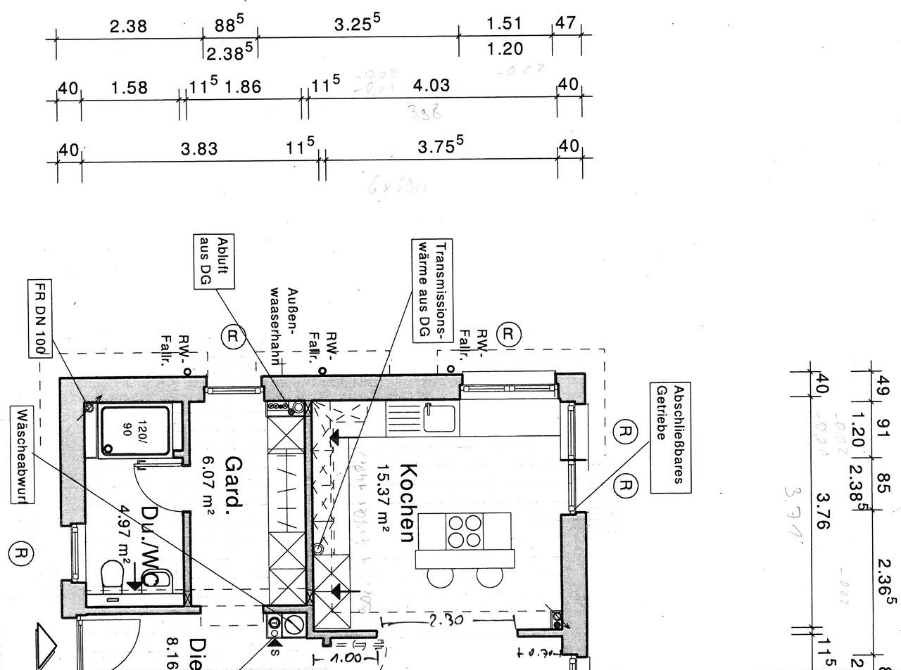 küche | wir bauen 'am lusthaus'